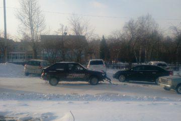 Авария на чистой дороге