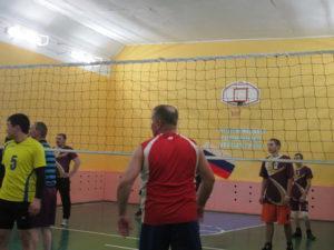 Турнир по волейболу.
