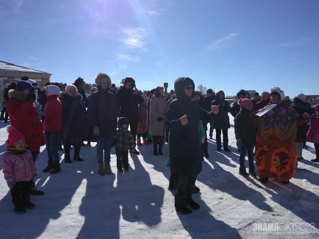 «Прощай, Матушка Зима, здравствуй Красная Весна!» СДЦ с. Степнинское.
