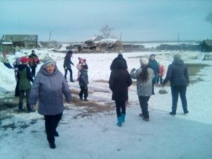 Народное гуляние «Собирайся народ – Масленица идёт» в с. Воронино