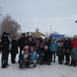 Проводы зимы в с. Верхняя Кабанка