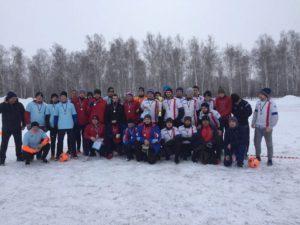 Областное первенство по зимнему мини-футболу.