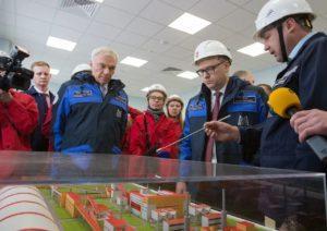 Алексей Текслер посетил Магнитогорский металлургический комбинат