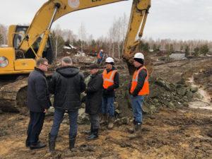 Алексей Текслер проинспектировал ход строительства объектов для саммитов ШОС и БРИКС