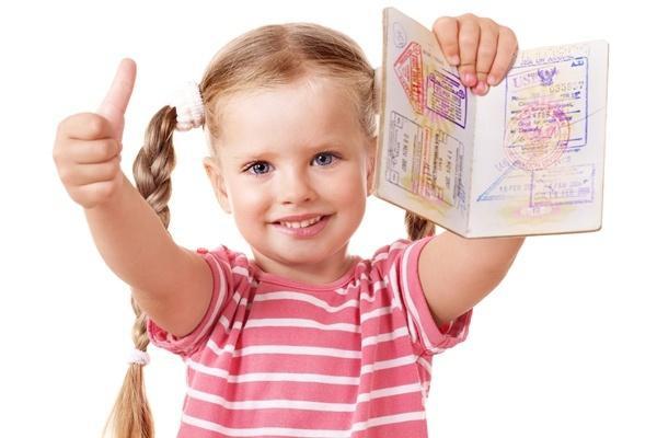 Заграничный паспорт для детей в два раза быстрее