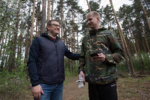 Алексей Текслер принял участие во Всероссийском дне посадки леса.