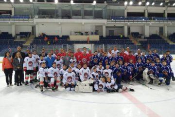 Матч со звёздами хоккея