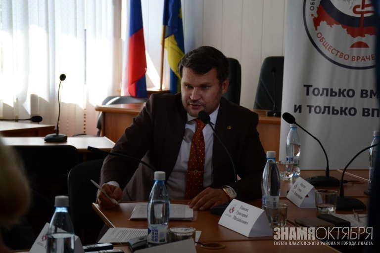 Степан Фирстов обсудил проблему оптимизации здравоохранения