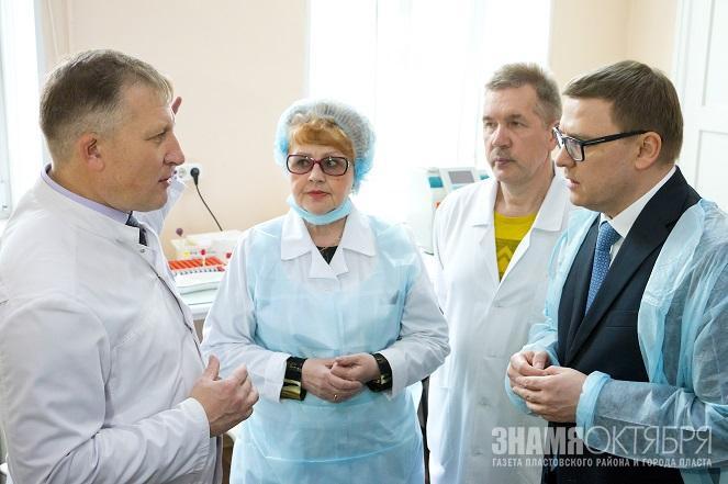 Алексей Текслер: медицине нужен врач