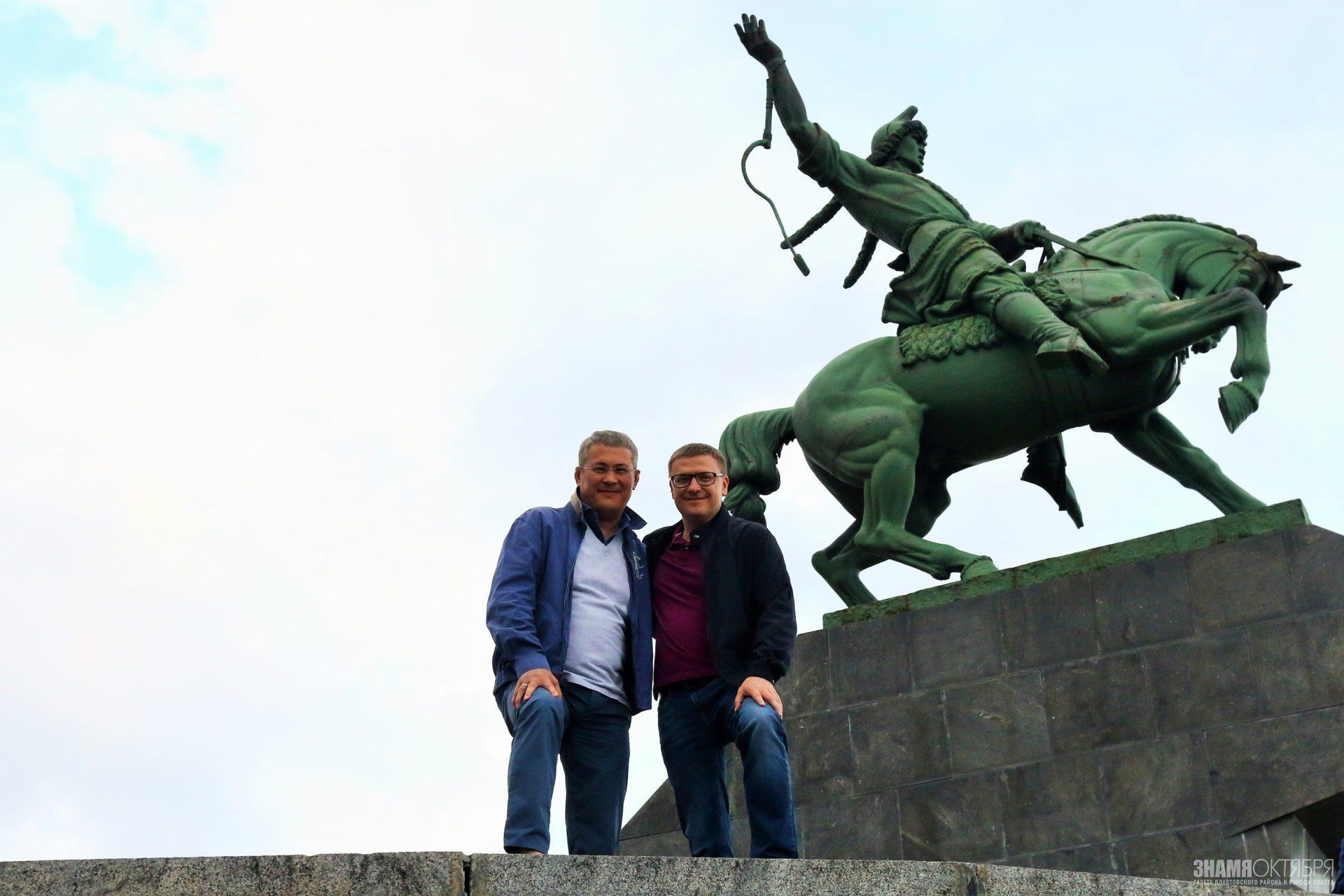Неофициальная встреча Текслера с главой Башкортостана