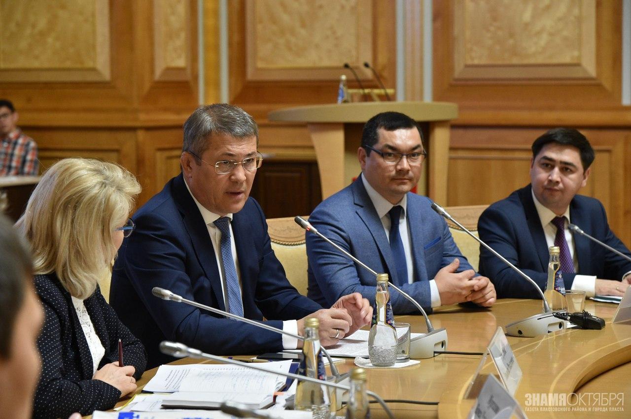 Встреча врио Главы Башкортостана Радия Хабирова с представителями башкирской общественности Челябинской области