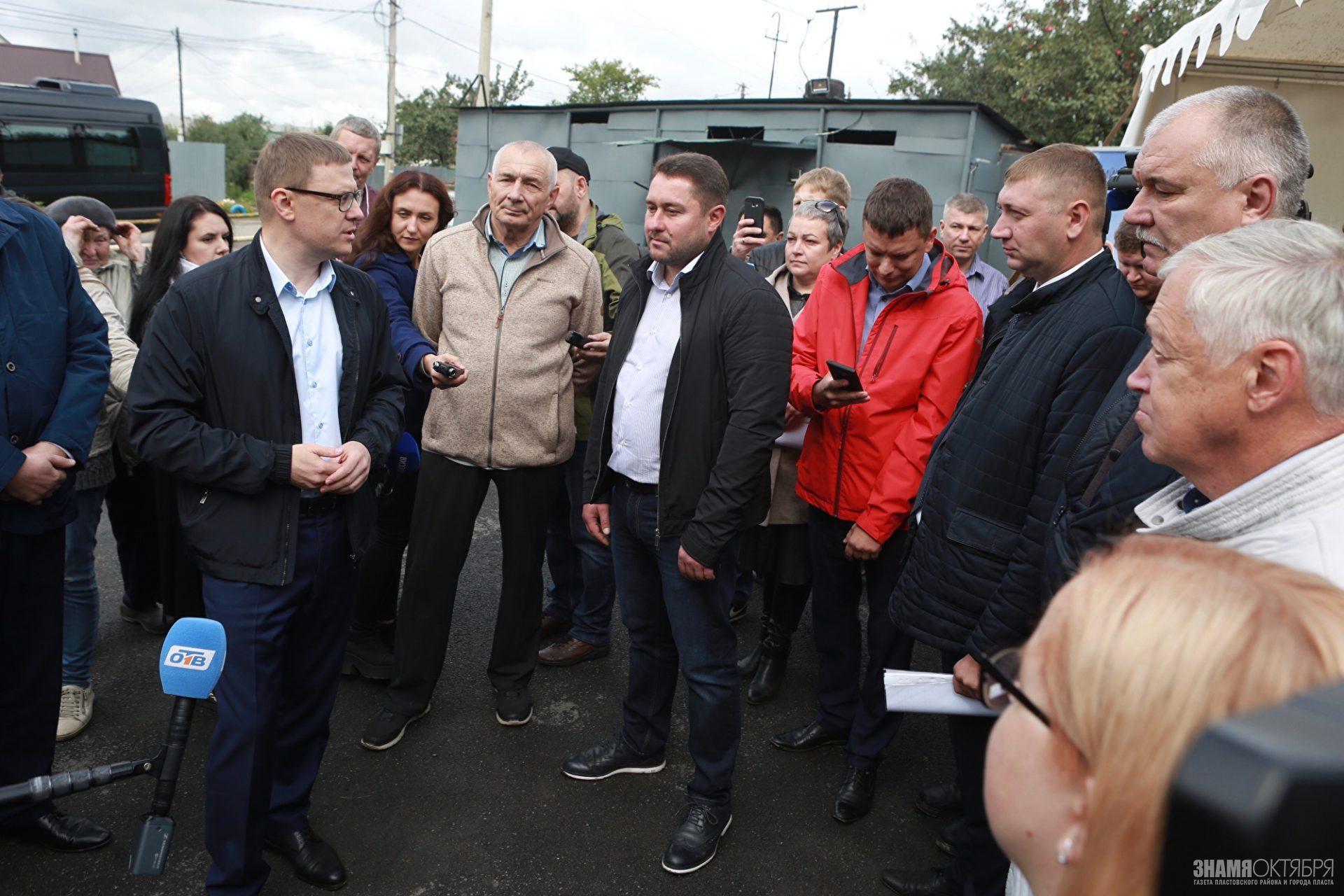 Что рассказали жители поселка Керамзавода главе Челябинской области Алексею Текслеру?