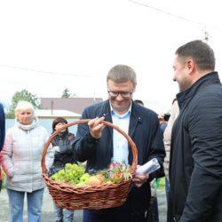 """Встреча Алексея Текслера с садоводами СНТ """"Искра"""""""