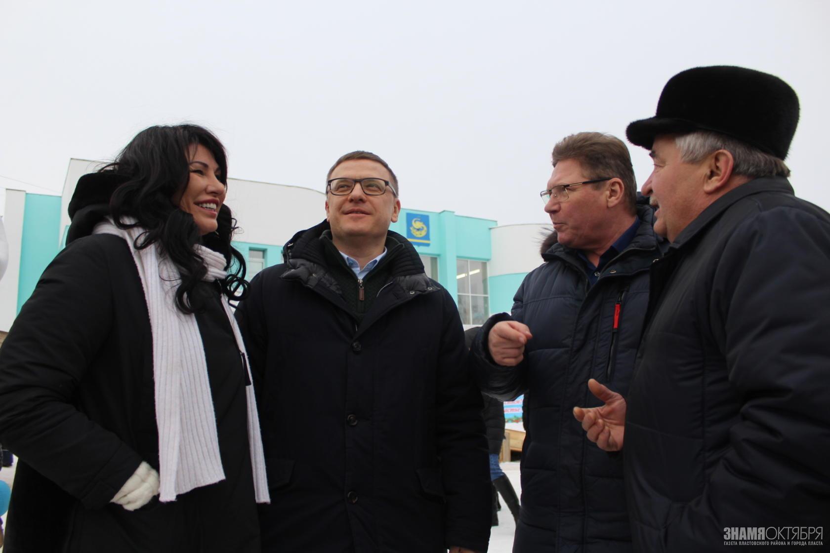 Алексей Текслер посетил новогодний Пласт