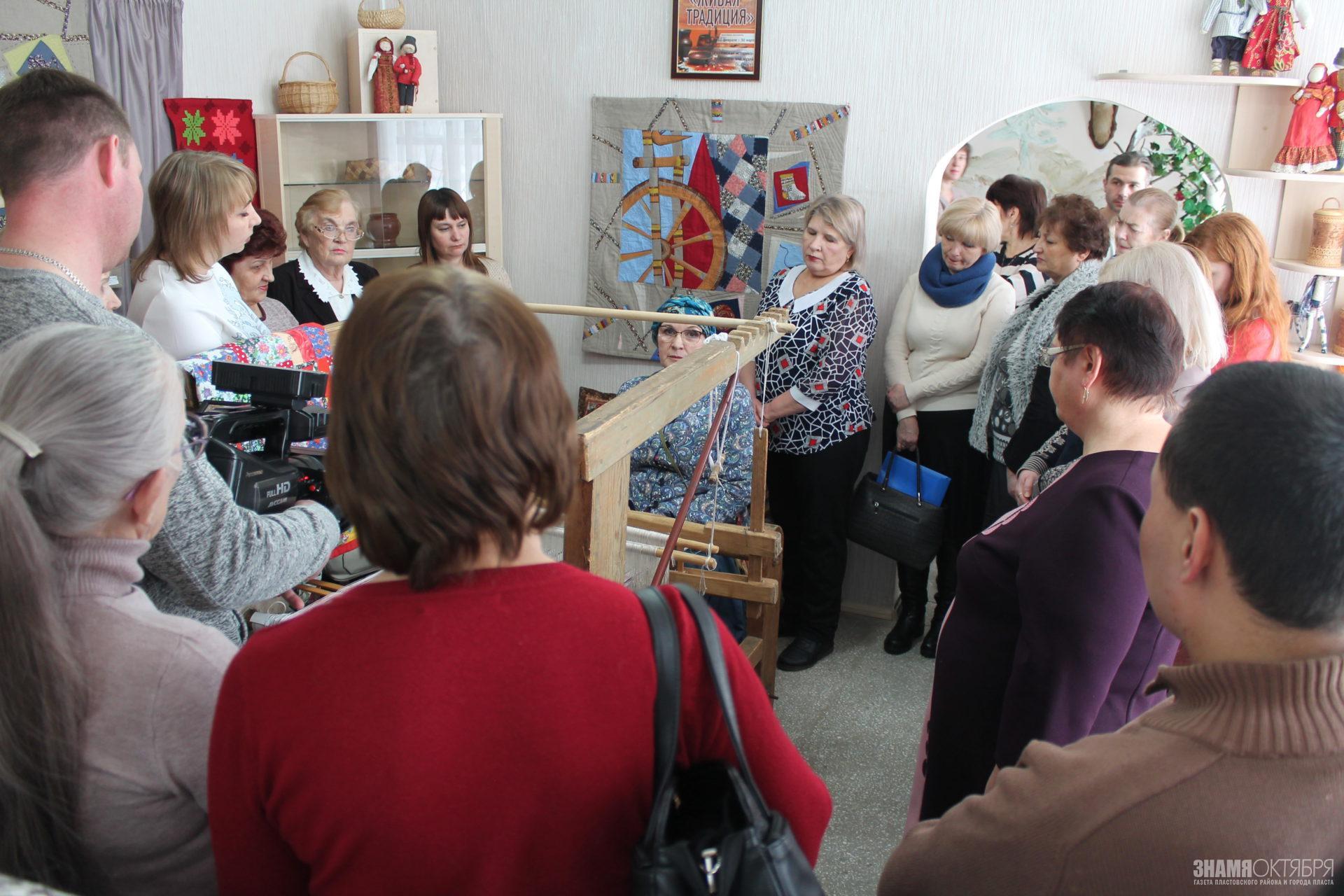 В Пластовском музее открылась выставка народных ремёсел и промыслов