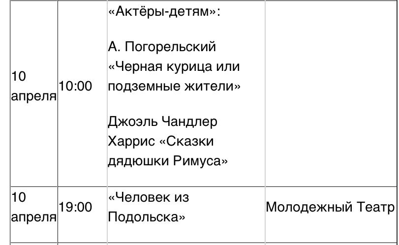 """Онлайн-театр """"Человек из Подольска"""""""