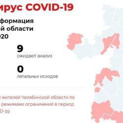 В Челябинской области обновили статистику по зараженным коронавирусом