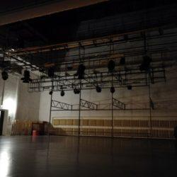 В ДК «Октябрь» начались работы по монтажу мультимедийного оборудования.