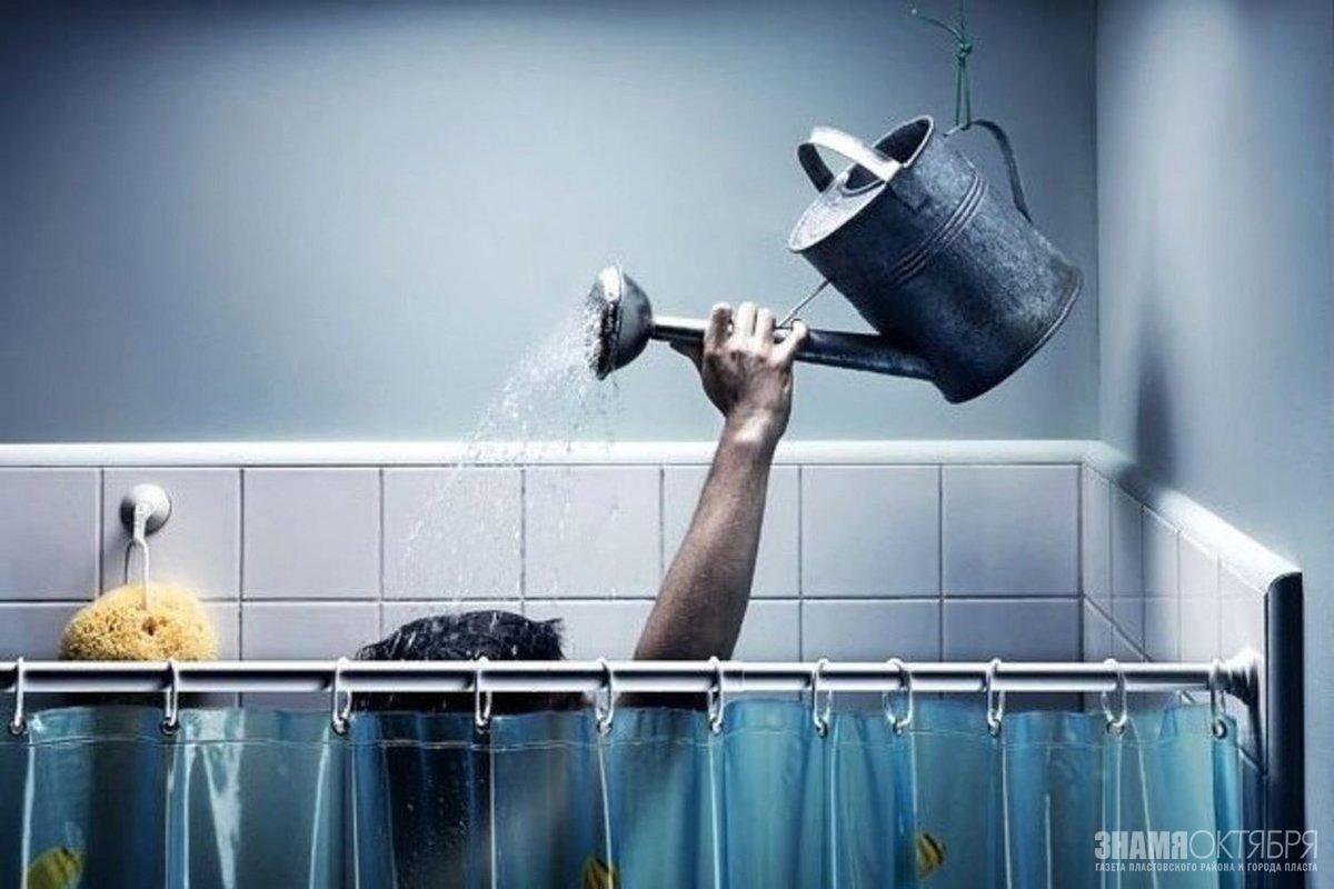 Горячая вода в Пласте будет весь май