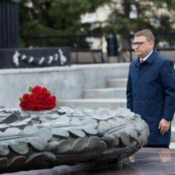 «День, когда началась война»: Алексей Текслер возложил цветы к «Вечному огню»