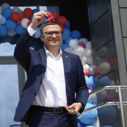 Алексей Текслер открыл новый спортивный комплекс в Варне