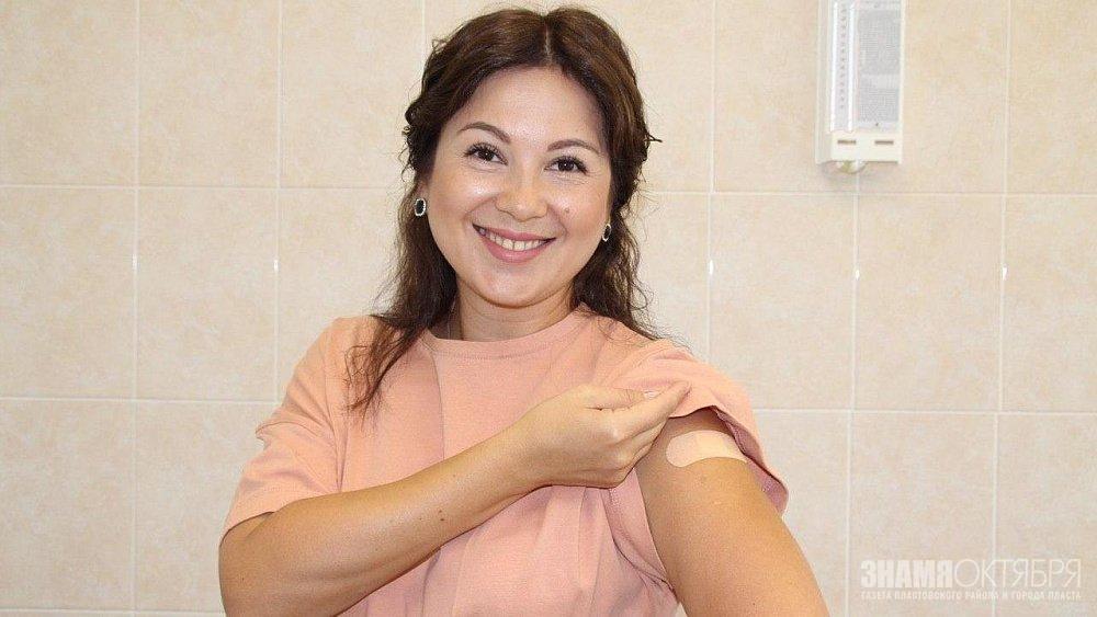 «Я ставлю прививку от гриппа каждый год»: Евгения Майорова рассказала о необходимости вакцинации