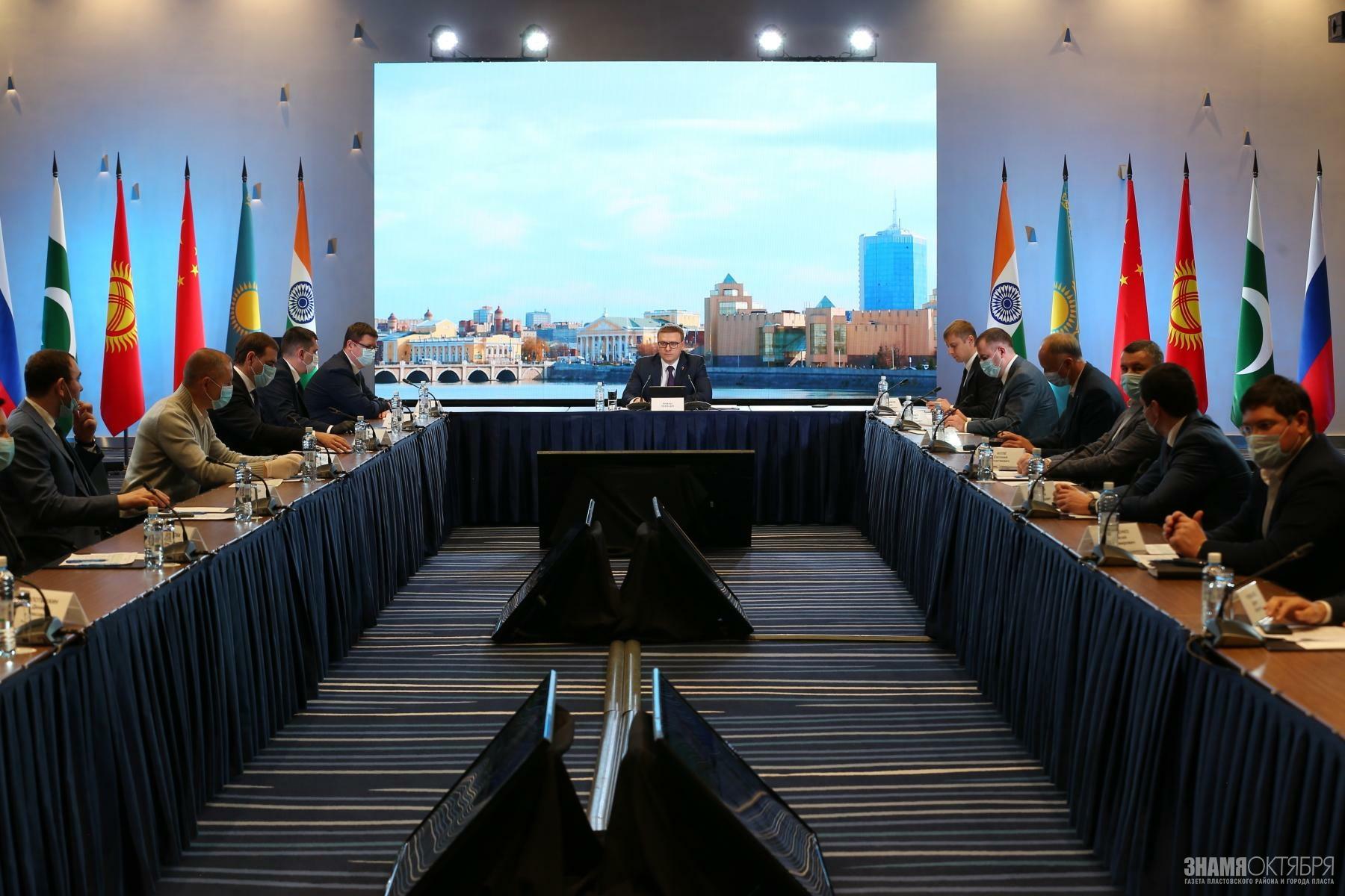 Алексей Текслер выступил на круглом столе международного межпартийного форума «Единой России» «ШОС+»
