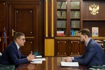Рабочая встреча Алексея Текслера с руководителем Федерального агентства по делам национальностей Игорем Бариновым