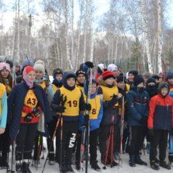 На лыжах за победой.