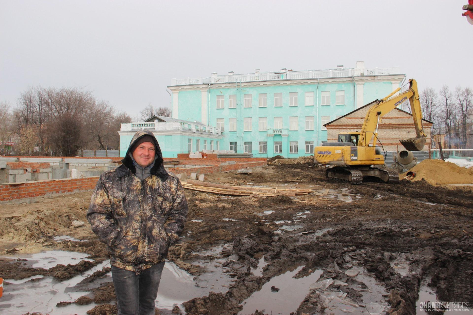 Вторая школа строится!