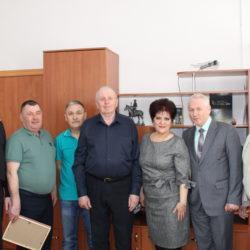 В Пластовском  Отделе МВД России чествовали юбиляров