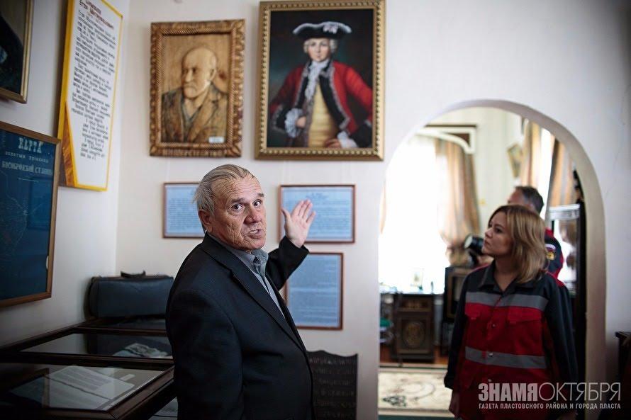 Научный сотрудник Пластовского районного музея Р. К. Хайрятдинов никогда не пропускает выборы